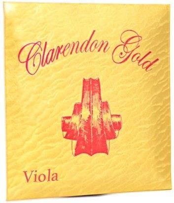 Clarendon Gold 12in Viola String Set