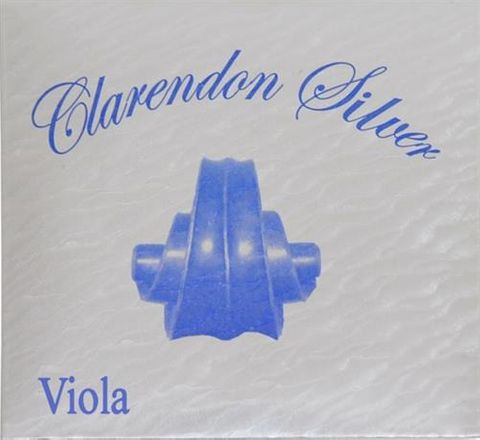 Clarendon Silver 14in VIOLA String Set