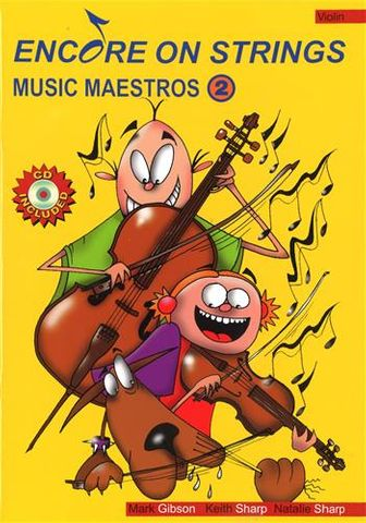 Music Maestros 2 Violin Book and CD