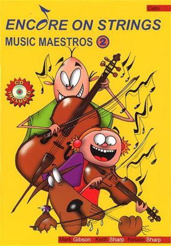 Music Maestros CELLO 2 Book and CD