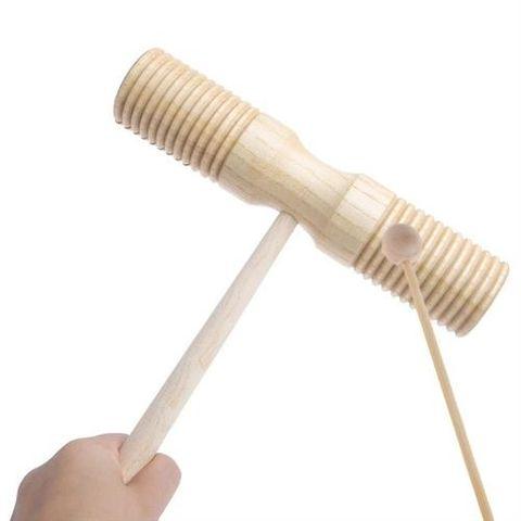 P.Plus 2 Tone Wood Agogo Bell