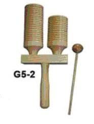 Percussion Plus Wooden Agogo Bell