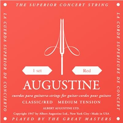Red Augustine Classic Strings Med Tensio