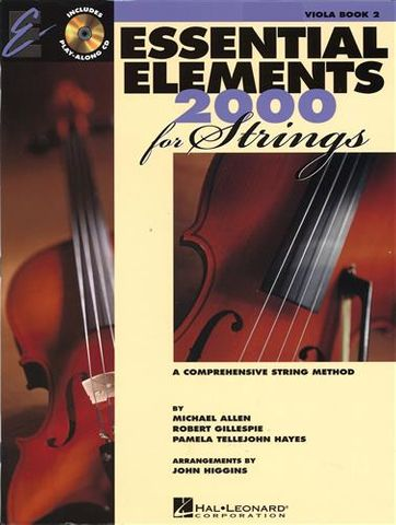 Essential Elements 2 VIOLA Book