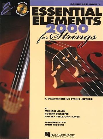 Essential Elements 2 DOUBLE BASS Book