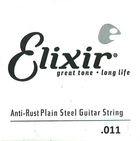 Elixir .011 Plain Electric Single