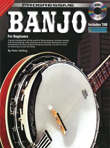 69260 Progressive Banjo Bk & CD