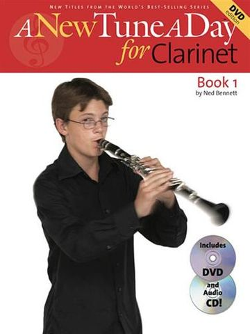New Tune A Day Clarinet Bk/DVD