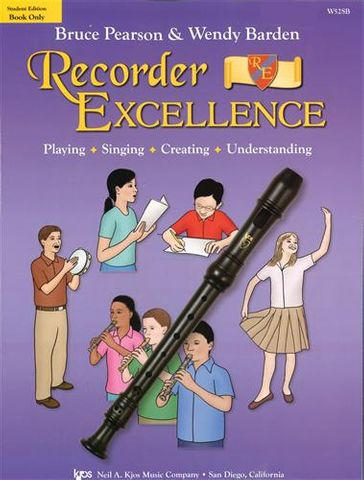 Recorder Excellence Student Book