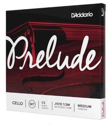 D'Addario 1/2 Prelude Cello Strings Med