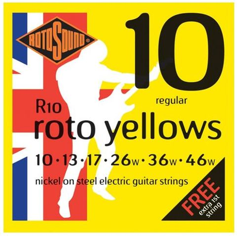Rotosound NW 10-46 Yellow Electric Strin