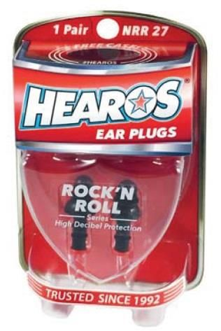 Hearos Rock n Roll Series Ear Filters