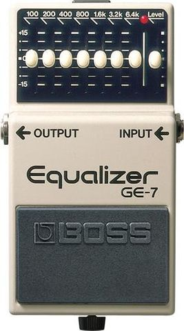 Boss 7 Band Graphic Equalizer
