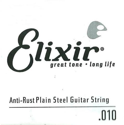 Elixir .010 Plain Electric Single