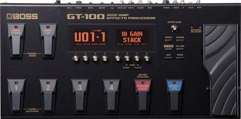 Boss GT100v2 Guitar Multiple Effects