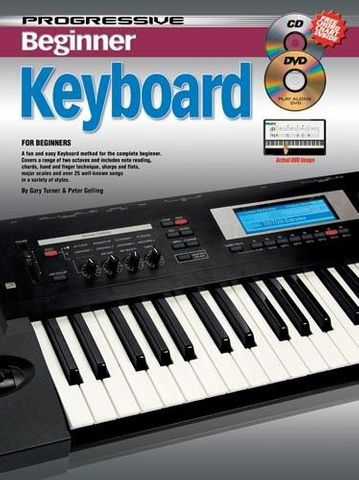 11813 Beginner Keyboard w/ CD DVD