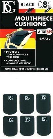 BG Small BlK Mouthpiece Cushion Sax/Clar