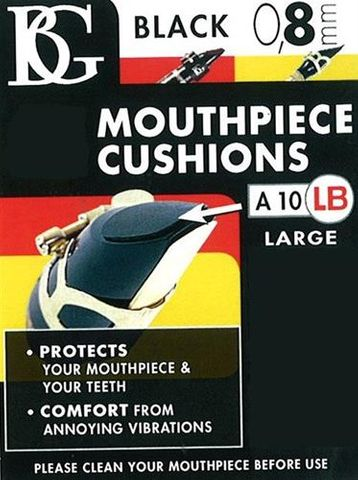BG Large BlK Mouthpiece Cushion Sax/Clar