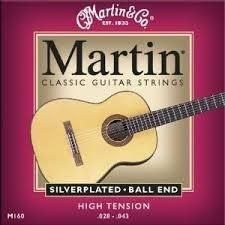 Martin M160 Ball End Classic Guitar Strg