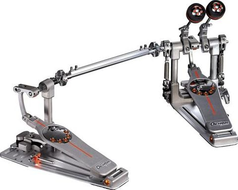 Pearl Demon Drive Twin Pedal with Case