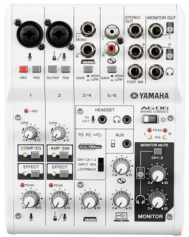 Yamaha AG06 Mixer/Interface