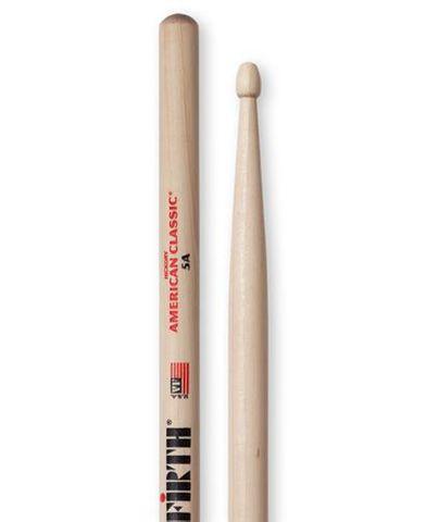 Vic Firth 5A Drum Sticks Wood Tip