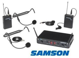 Wireless Headset or Lapel Mics