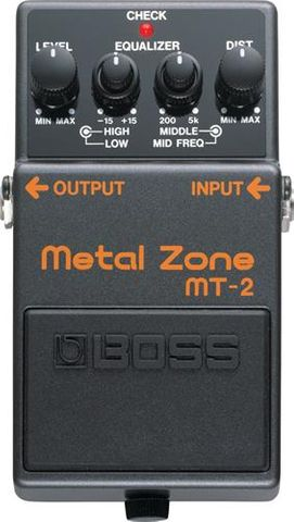 Boss Ultra Heavy Metalzone MT2 Pedal