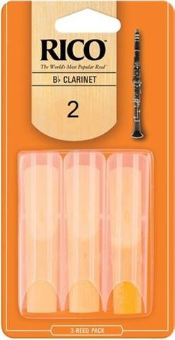 Rico 3 Pack 2 Clarinet Reeds