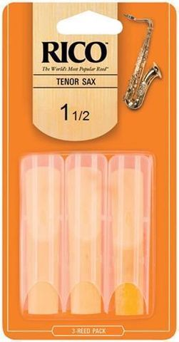 Rico 3 Pack 1.5 Tenor Sax Reeds