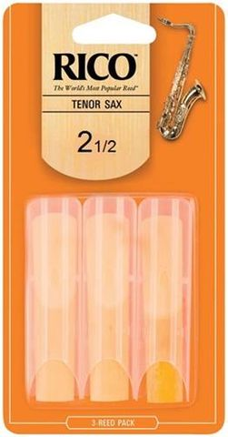Rico 3 Pack 2.5 Tenor Sax Reeds