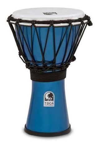 Toca 7in MET BLUE Djembe