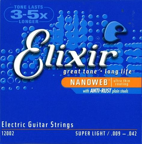 Elixir Nano Elec Super Light 9-42 String