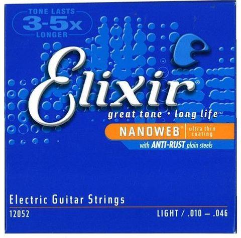 Elixir Nano Electric Light 10-46 Strings