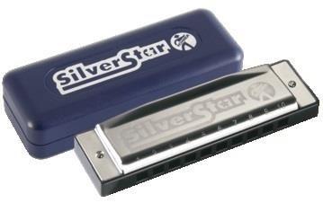 Hohner F Silver Star Harmonica 504/20