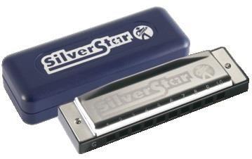 Hohner 504/20/G Silver Star Harmonica