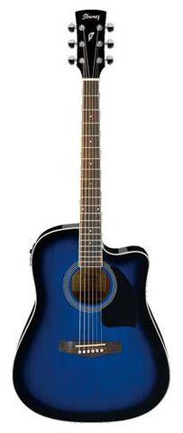 Ibanez PF15ECE TBS Ac/El Guitar