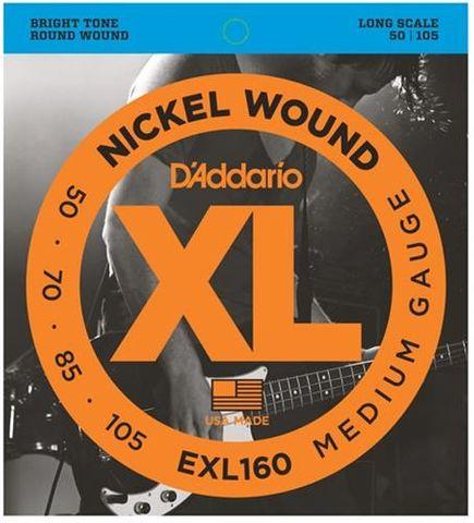 D'Addario EXL160 Bass Strings 50-105