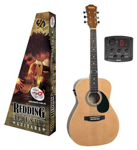 Redding 3/4 NAT Ac/El Guitar
