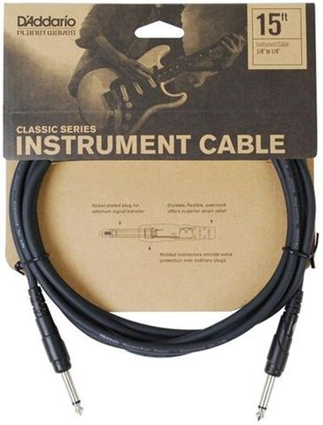 Planetwave 15ft 1/4in Guitar Cable