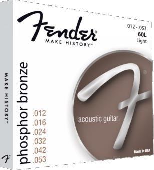 Fender 60L Phos Bronze Ball 12-53 String