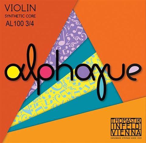 Thomastik 3/4 VIOLIN Alphayue String Set