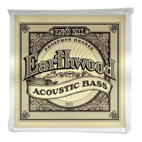 Ernie Ball E/Wood Acoustic Bass Strings