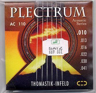 DT Plectrum Bronze AC110 10/41 Strings