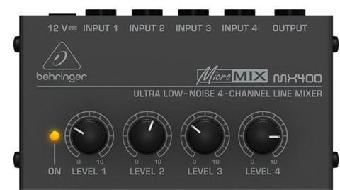 Behringer MX400 Micromix Mixer