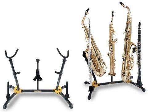 Hercules Duo Sax Flute Clarinet Stand