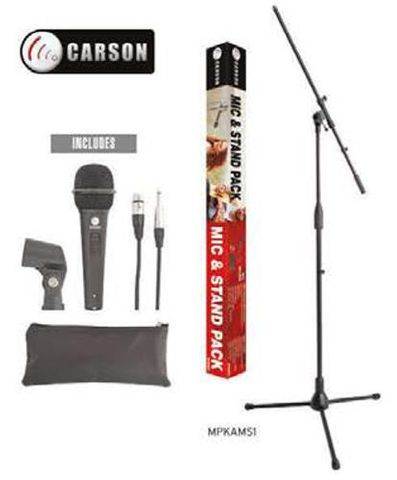 Carson Mic and Stand Pack