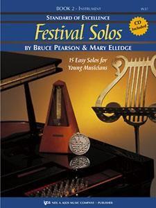 Festival Solos Bk2 Bk CD Alt Sax