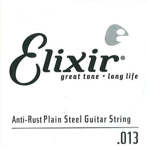 Elixir .013 Plain Electric Single