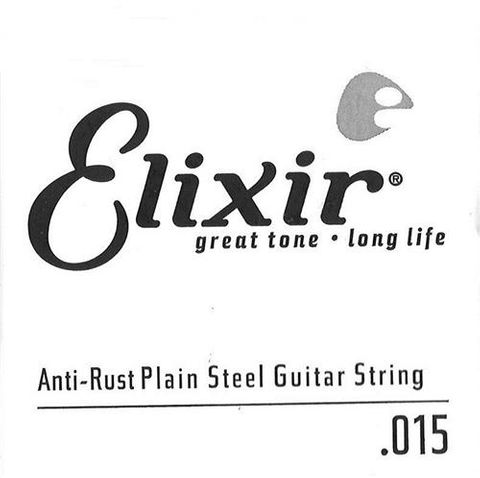Elixir .015 Plain Electric Single